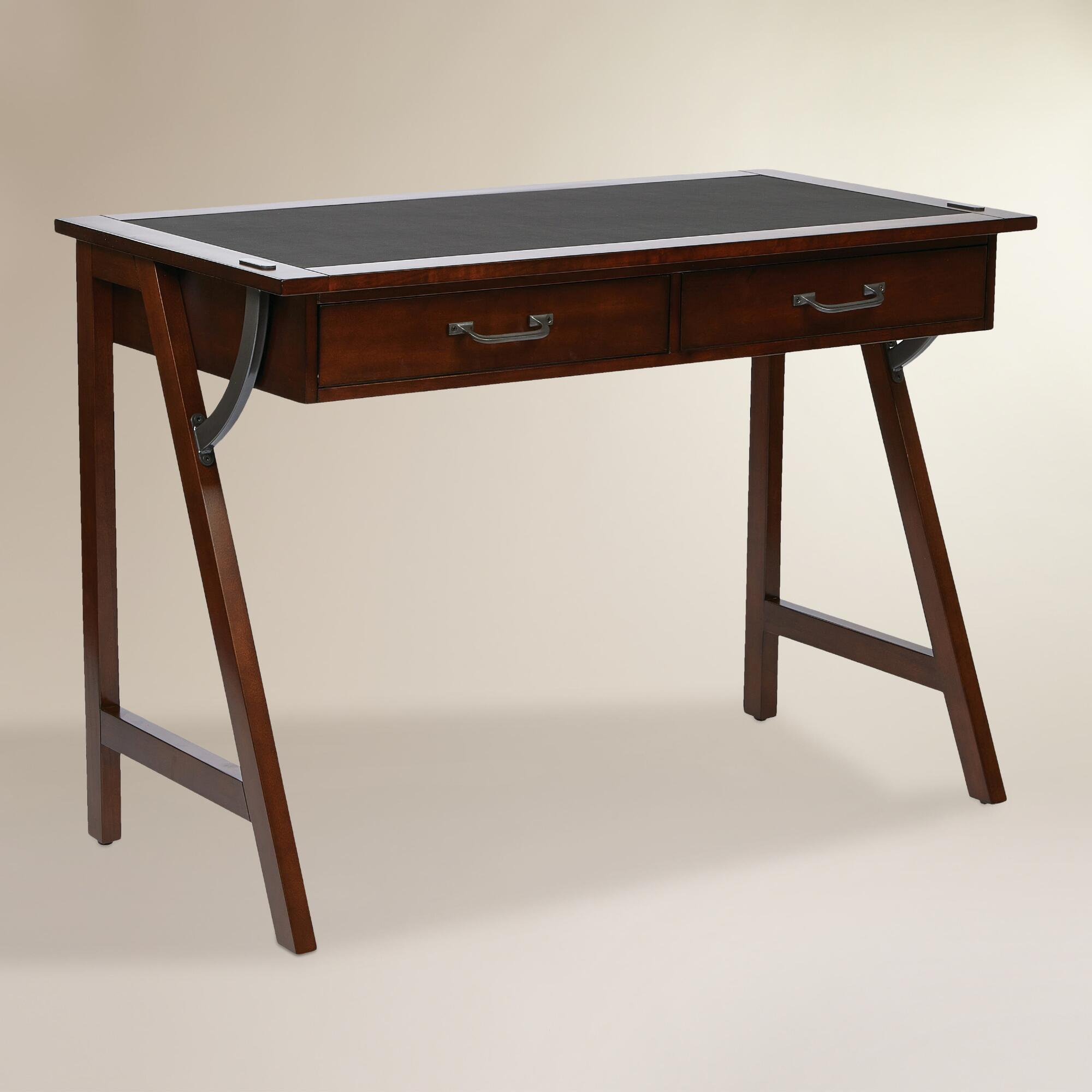 Wood darcel writing desk world market