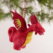 Paper  Dragon Ornaments, Set of 4