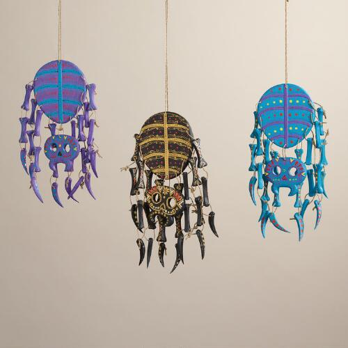 Bright Wood Spider Wall Decor, Set of 3