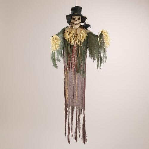 Skeleton Scarecrow Figure