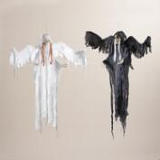 Angel Skeleton Figures, Set of 2
