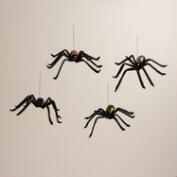 Sequined Spiders, Set of 4