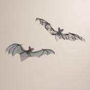 Hanging Fabric Bats, Set of 2