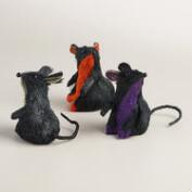 Natural Fiber Mice, Set of 3