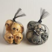 Mini Skull Bags, Set of 2