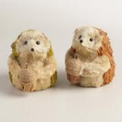 Large Natural Fiber Hedgehogs, Set 2