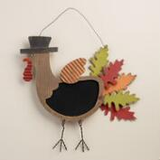 Hanging Turkey Chalkboard