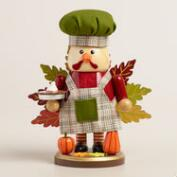 Turkey Chef Nutcracker