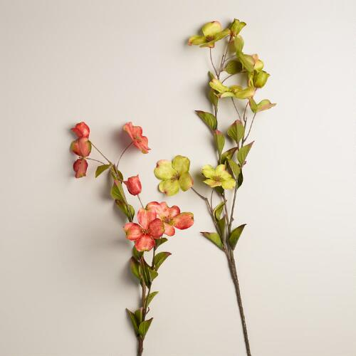 Dogwood Stems, Set of 2