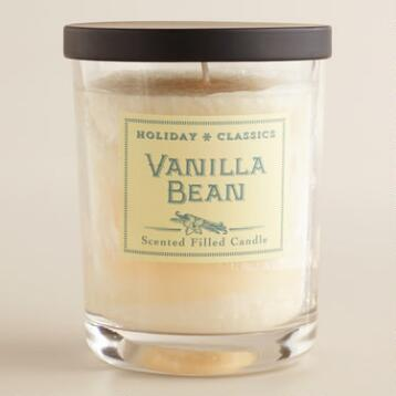 Ivory Vanilla Bean Filled Jar Candle