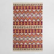 5'x8' Recycled Cotton Kilim Orissa Area Rug