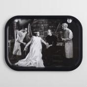 Bride of Frankenstein Tin Serving Tray