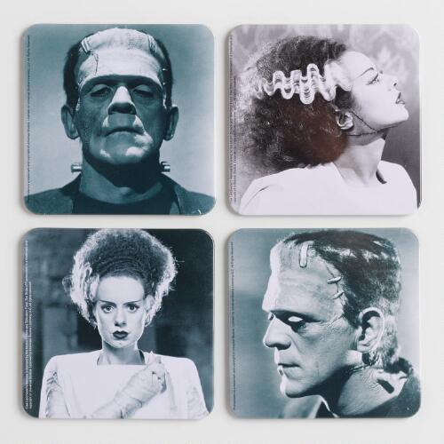 Universal Monsters Coasters, Set of 4