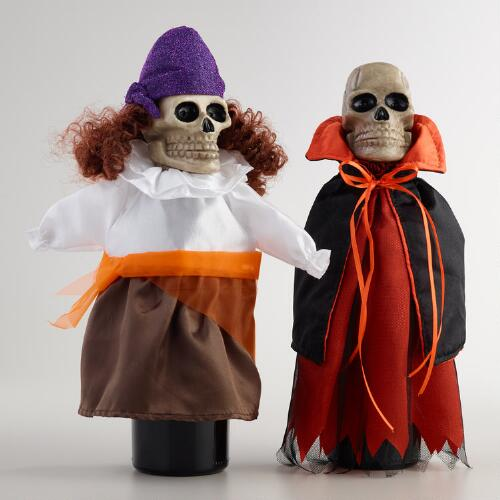 Scary Wine Bottle Outfits, Set of 2