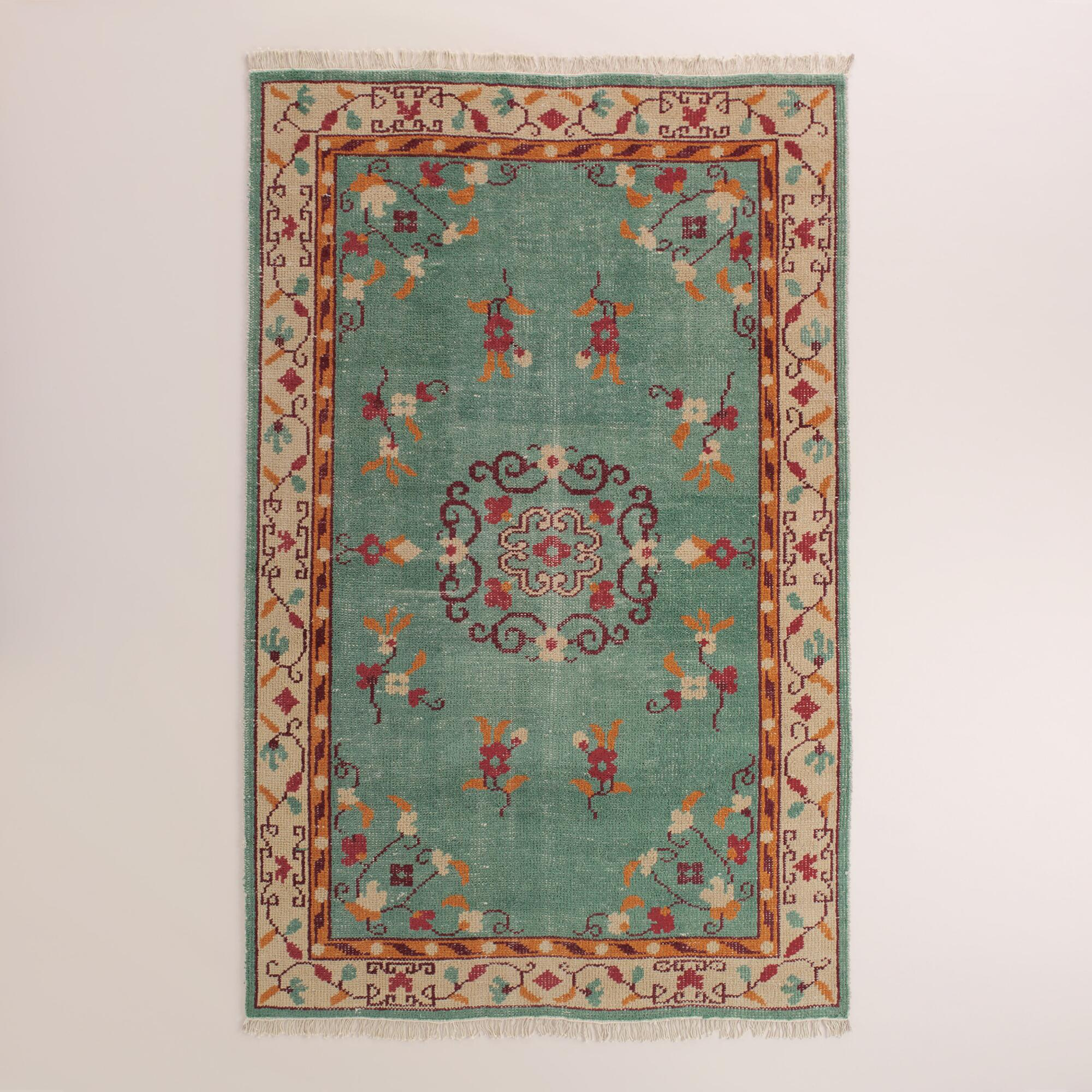 Boho Hand Knotted Wool Lille Area Rug World Market