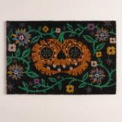 Pumpkin Halloween Doormat