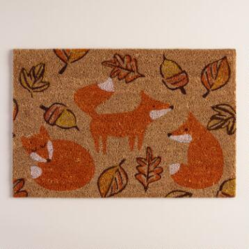 Fox Harvest Doormat