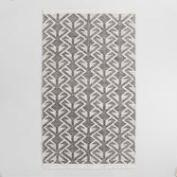 Black Graphic Woven Emerson Area Rug