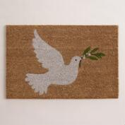 Dove Holiday Doormat