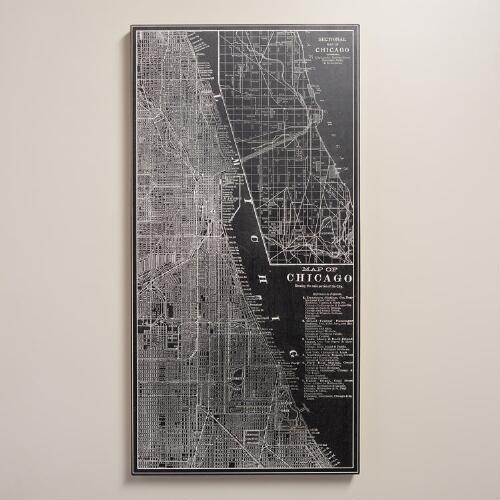 """City Grid Chicago"" by Vision Studio"