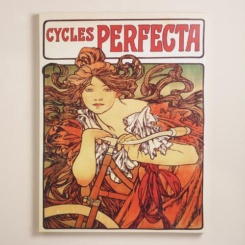 """Cycles Perfecta"" by  Alphonse Mucha"