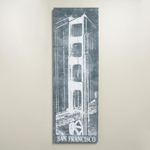 """San Francisco Chalk Art"" by IHD Studio"