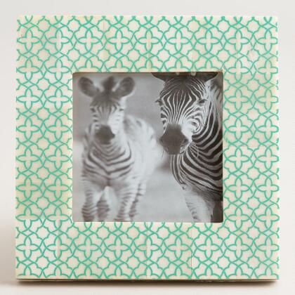 Mint Geometric Frame