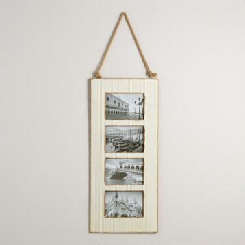Ivory Barn Metal 4-Photo Frame