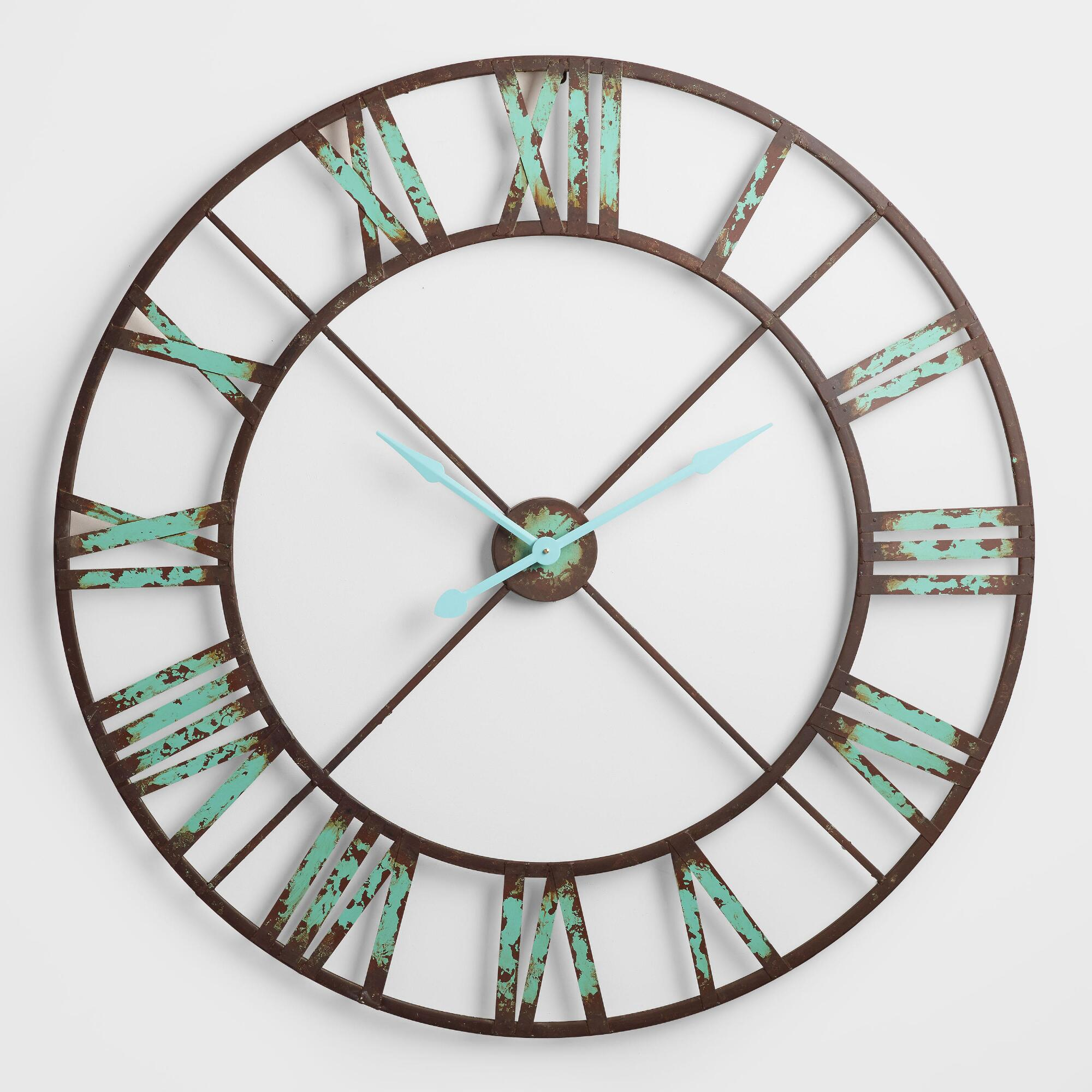 Industrial Reed Wall Clock World Market