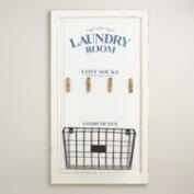 Laundry Room Lost Socks Wall Storage