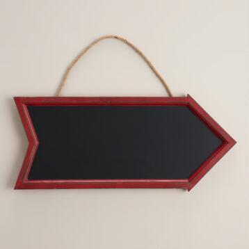 Red Arrow Chalkboard