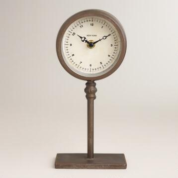Ryan Pedestal Clock