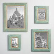 Green and Gold Jolie Wall Frames