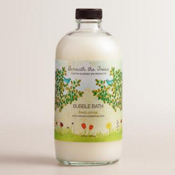Beneath the Trees Fresh Citrus Bubble Bath