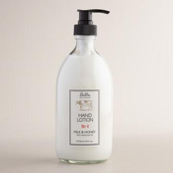 Belle Milk & Honey Hand Lotion
