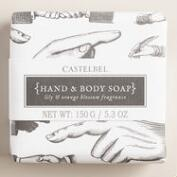Castelbel Sketch Lily & Orange Blossom Bar Soap