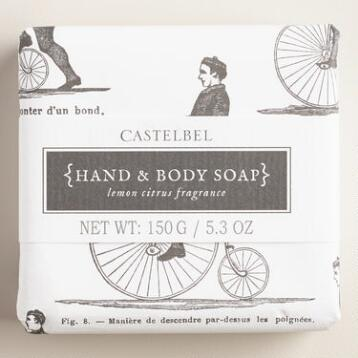 Castelbel Sketch Lemon & Citrus Bar Soap