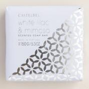 Castelbel Geometric White Lilac & Mimosa Bar Soap
