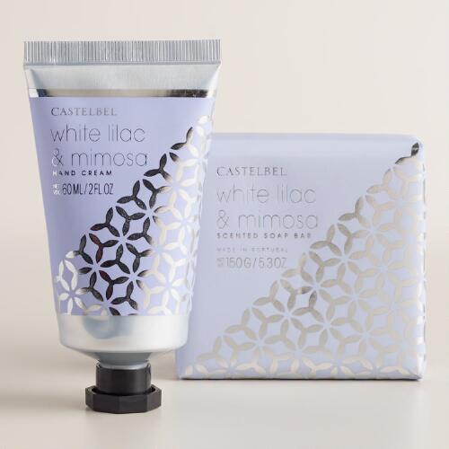 Castelbel White Lilac and Mimosa Bath and Body Collection