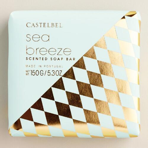 Castelbel Geometric Sea Breeze Bar Soap
