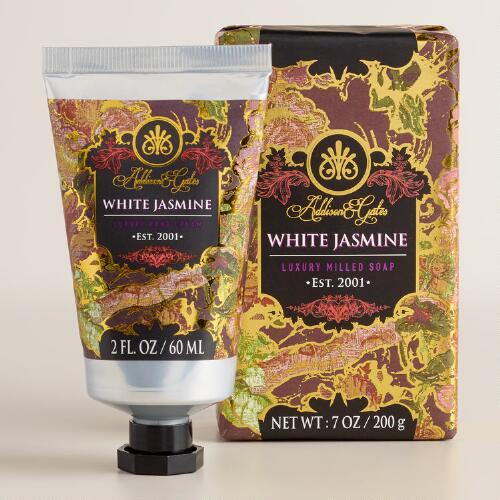 A&G Baroque White Jasmine Bath and Body Collection