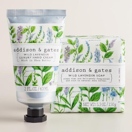 A&G Botanical Wild Lavender Bath and Body Collection