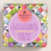 A&G Mini Lavender Chamomile Bar Soaps, Set of 4