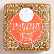 A&G Mini Grapefruit & Tangerine Bar Soaps, Set of 4