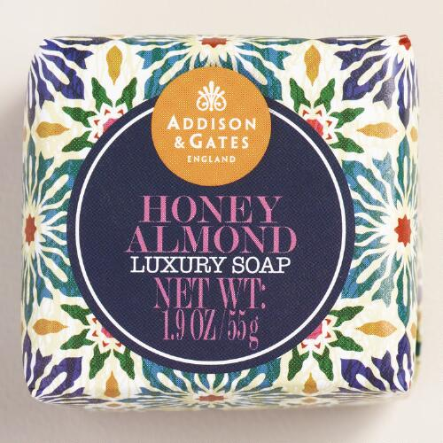 A&G Mini Honey Almond Bar Soaps, Set of 4
