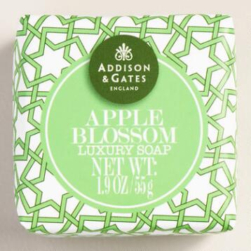 A&G Mini Apple Blossom Bar Soaps, Set of 4