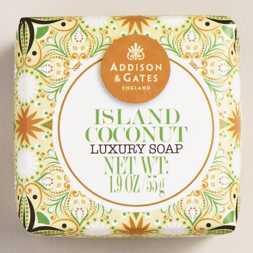 A&G Mini Island Coconut Bar Soaps, Set of 4