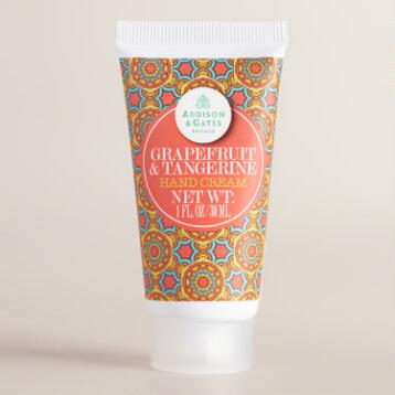 A&G Mini Grapefruit & Tangerine Hand Creams, Set of 4