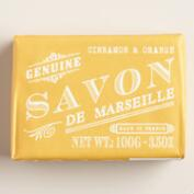 Savon De Marseille Cinnamon & Orange Bar Soaps, Set of 2