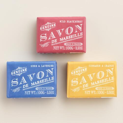 Savon De Marseille Bar Soap Collection